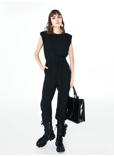 Twist Tişört Siyah
